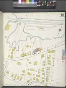 Staten Island, V. 1, Plate No. 48 [Map bounded by Kill Van Kull, Woodruff Lane, Barker, Trinity Pl., Taylor]