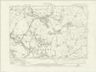 Cumberland LXVIII.NW - OS Six-Inch Map