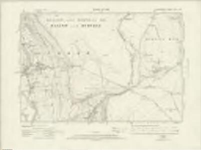 Derbyshire XVII.SW - OS Six-Inch Map