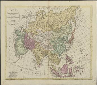 Asia secundum novas celeberrimi de l'Isle projectiones aliorumque recentissimorum geographorum observationes concinnata
