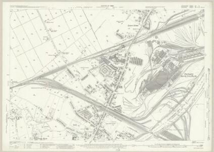Lancashire CX.5 (includes: Carrington; Irlam; Partington; Rixton With Glazebrook) - 25 Inch Map