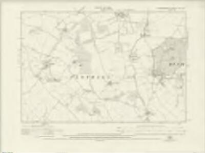 Hertfordshire VIII.SW - OS Six-Inch Map