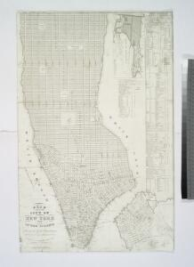 Plan of the city of New York and of the island : as laid out by the commissioners, altered and arranged to the present time / engraved by J.F. Morin.