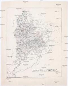 Stolice Zemplín a Užhorod