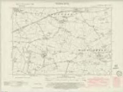 Derbyshire L.NE - OS Six-Inch Map