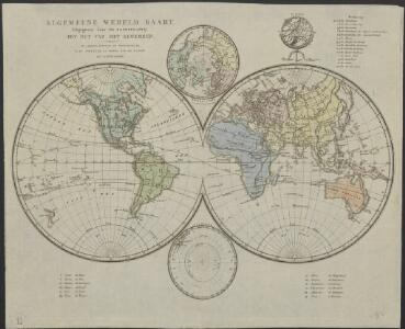 Algemeene wereldkaart