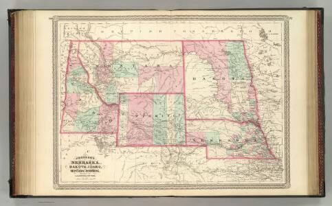 Nebraska, Dakota, Idaho, Montana, and Wyoming.