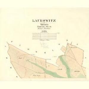 Laukowitz - m2772-1-001 - Kaiserpflichtexemplar der Landkarten des stabilen Katasters