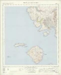 Rhum and Part of Skye - OS One-Inch Map