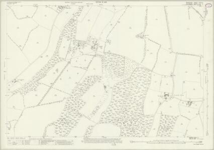 Berkshire XXXIII.2 (includes: Chilton Foliat; Lambourn; Ramsbury) - 25 Inch Map