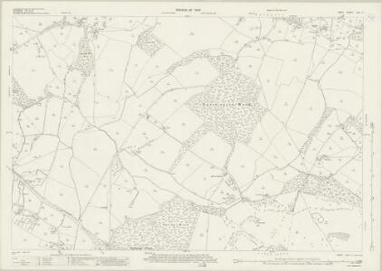 Kent LXV.11 (includes: Brabourne; Mersham; Smeeth; Wye) - 25 Inch Map