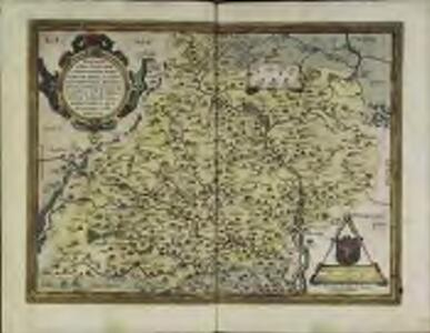Moraviæ, qvae olim Marcomannorvm sedes, corographia