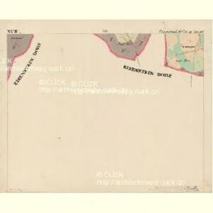 Eisenstrass - c1950-1-017 - Kaiserpflichtexemplar der Landkarten des stabilen Katasters