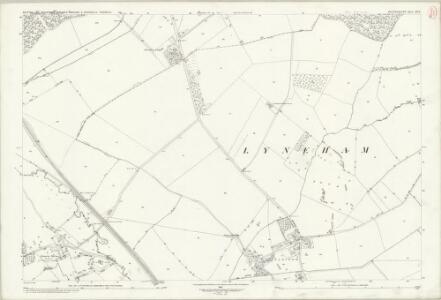 Oxfordshire XX.9 (includes: Bruern; Churchill; Lyneham; Sarsden) - 25 Inch Map