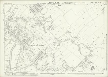 Surrey XII.5 (includes: Walton Upon Thames) - 25 Inch Map