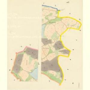 Kirchradaun - c3384-1-004 - Kaiserpflichtexemplar der Landkarten des stabilen Katasters