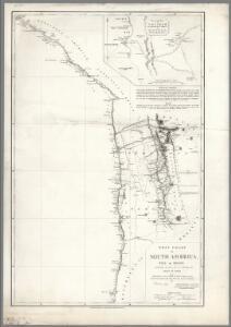 West Coast of South America.  Peru and Bolivia (mostly Chile) ... Quilca to Cobija.