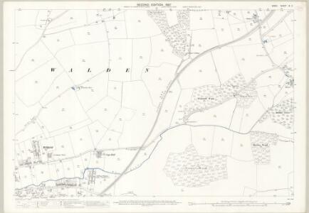 Essex (1st Ed/Rev 1862-96) IX.2 (includes: Saffron Walden) - 25 Inch Map