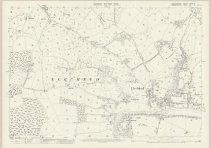 Cardiganshire XXXVIII.10 (includes: Cilgerran; Llangoedmor; Maenordeifi) - 25 Inch Map