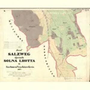 Salzweg - c7139-1-002 - Kaiserpflichtexemplar der Landkarten des stabilen Katasters