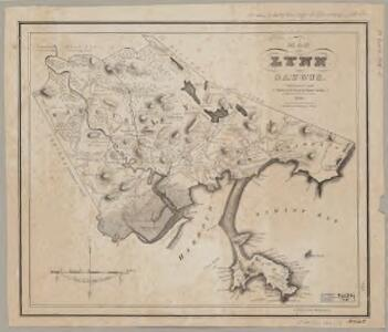 Map of Lynn and Saugus : settled in 1629