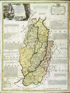 An accurate map of Nottingham Shire