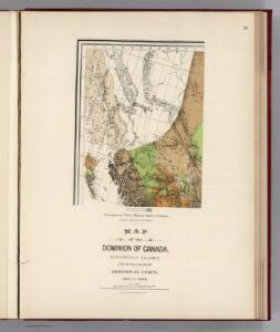 Facsimile:  Official British Columbia Map.
