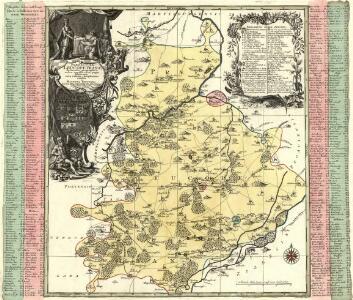 Praefecturae Leucopetranae delineatio geographica urbes, oppida, vicos, pagos, limitesque nova ratione complectens exhibita
