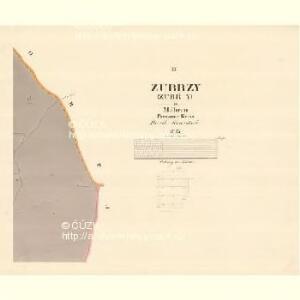 Zubrzy (Zubřzy) - m3614-1-003 - Kaiserpflichtexemplar der Landkarten des stabilen Katasters