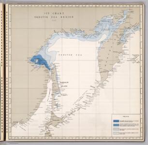 Ice Chart, Okhotsk Sea Region, June.