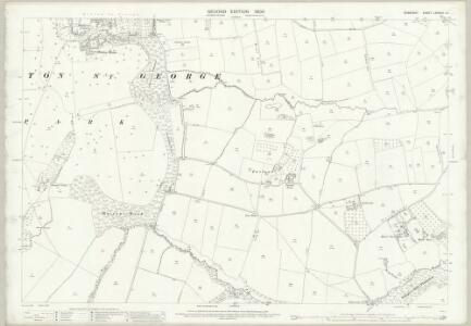 Somerset LXXXVIII.12 (includes: Crewkerne; Hinton St George; Merriott; West Crewkerne) - 25 Inch Map
