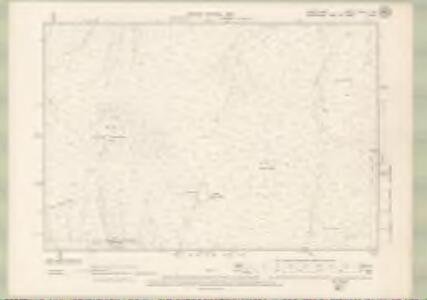 Argyll and Bute Sheet XXXIII.SW - OS 6 Inch map