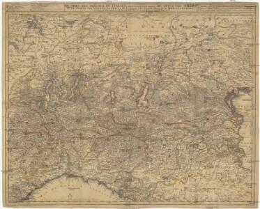 De stoel des oorlogs in Italien, waar in vertoont werden de staat van Milano, de republicen van Venetien en Genoua, de landen van Parma, Mantoua, Modena, Ferrara en andere met haare grensen, en het aanmerkelykste het geene hier nevens verklaart werd
