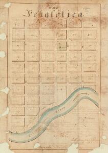 Map of Pekatolica / Robt. Daugherty ; Hugh R. Hunter, surveyor.