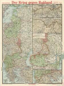 Paasche's Frontenkarte, Nr.15. Der Krieg gegen Russland