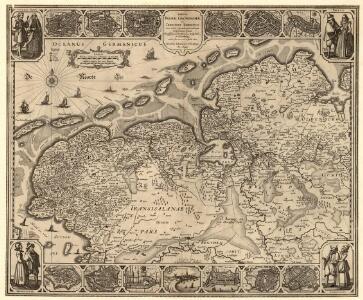 Tabula Frisiae, Groninghae et Territory, Embdensis