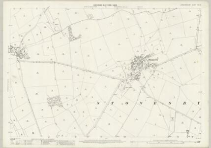 Leicestershire XIII.12 (includes: Sproxton; Waltham) - 25 Inch Map