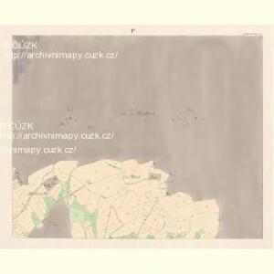 Mecholub (Měcholuby) - c4582-1-003 - Kaiserpflichtexemplar der Landkarten des stabilen Katasters