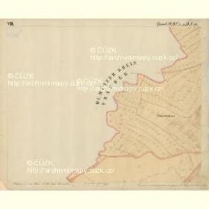 Prerau (Přerow) - m2453-1-016 - Kaiserpflichtexemplar der Landkarten des stabilen Katasters