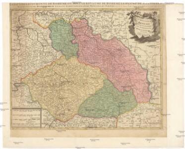 Le Royaume de Boheme, duché de Silesie, les marquisat de Moravie et de Lusace