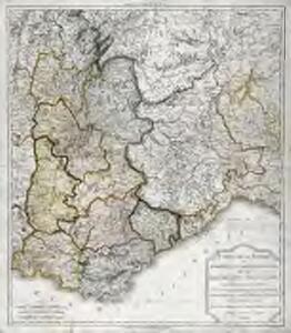 Carte de la Savoie ou supplément a la carte des frontières de la République française