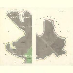 Ostra Vorstadt (Ostrowse Předmwstj) - m2196-1-001 - Kaiserpflichtexemplar der Landkarten des stabilen Katasters