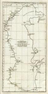 Essai d'une nouvelle carte de la Mer Caspienne.