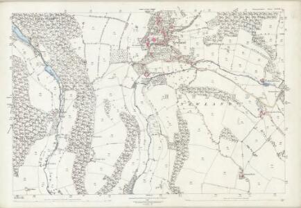 Gloucestershire XXXVIII.7 (includes: Newland) - 25 Inch Map