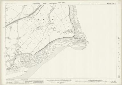 Glamorgan LI.3 (includes: Lavernock; Sully) - 25 Inch Map
