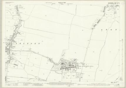 Bedfordshire XXVII.2 (includes: Arlesey; Letchworth; Stotfold) - 25 Inch Map