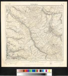 Meßtischblatt 112 : Lichtenstein, 1911