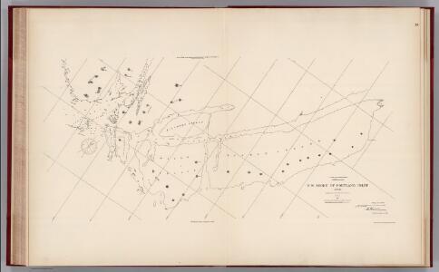 Facsimile:  Northwest Shore of Portland Inlet - U.S. Coast Survey.