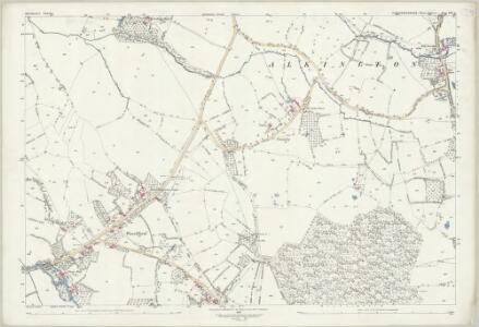 Gloucestershire LVI.5 (includes: Alkington; Ham and Stone) - 25 Inch Map