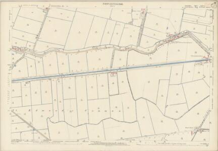Lincolnshire CLIV.2 (includes: Gedney Hill; Parson Drove; Sutton St Edmund) - 25 Inch Map